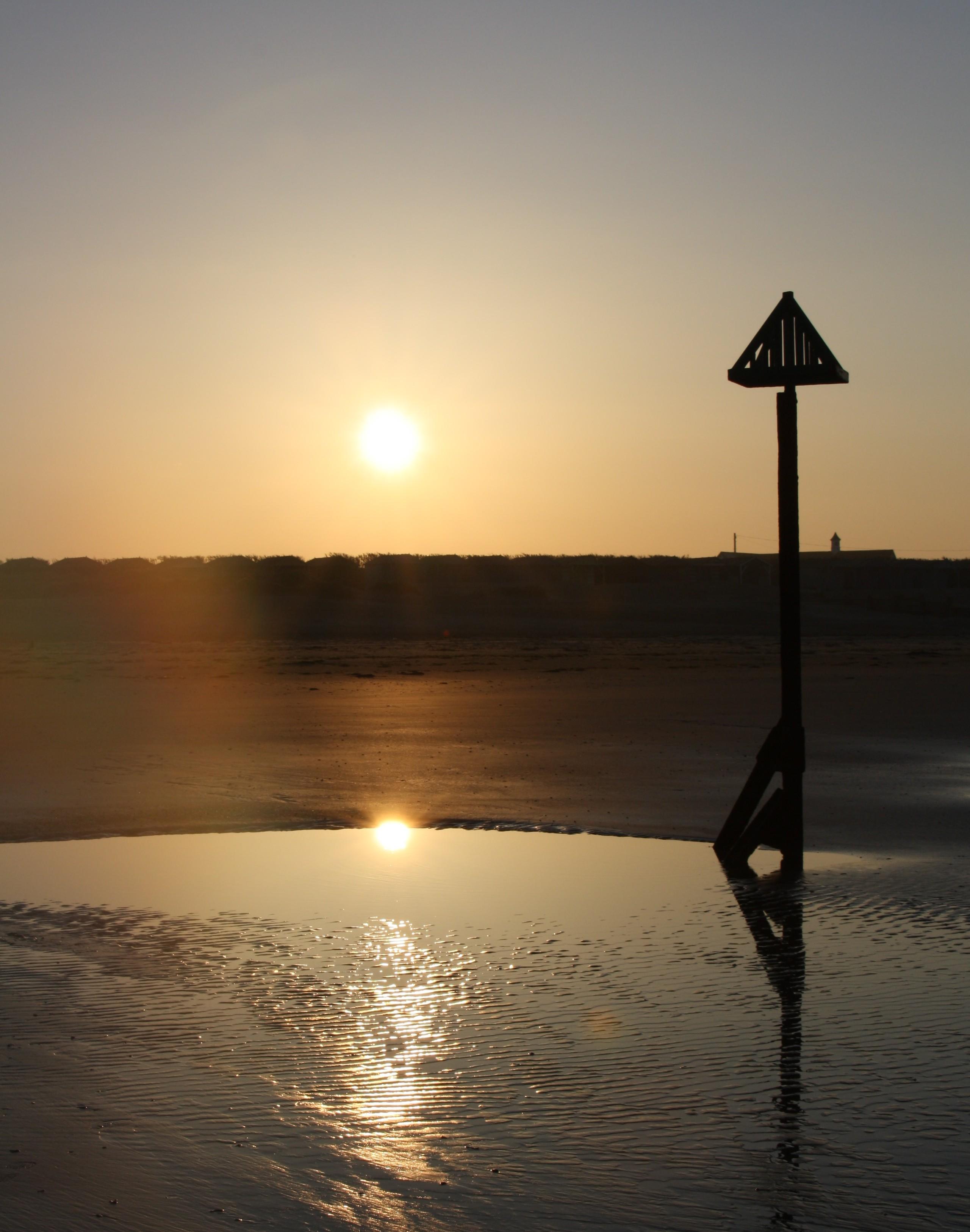 Beach post @ sunset