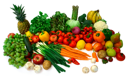 Fruits & veggies for juicing